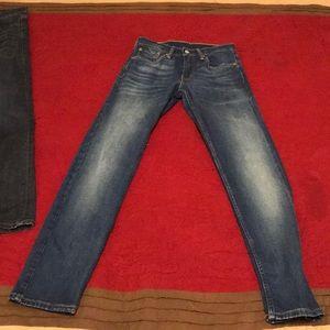 Levis Strauss Jeans 28x32 Men Slim